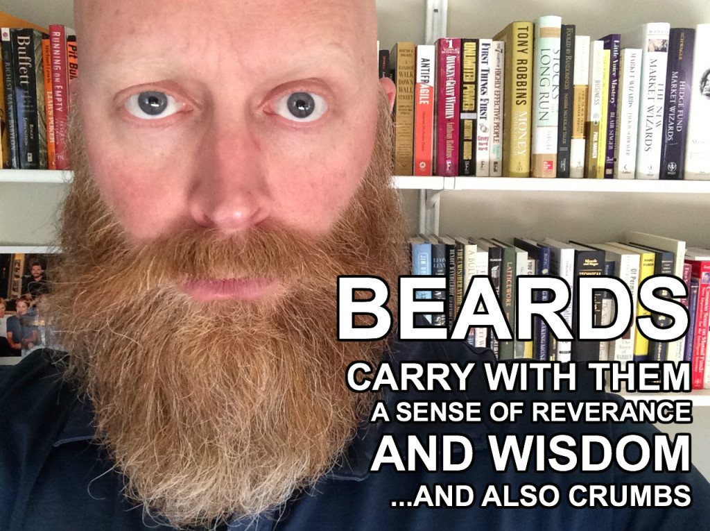 A Brief @Twitter Timeline Of My 11-Month Correction Beard