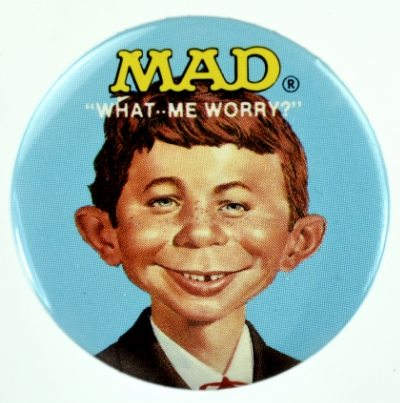 Mr. Market Does His Best Alfred E. Neuman